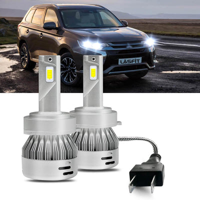 2014-2019 Mitsubishi Outlander Custom H7 LED Bulbs Exterior Interior Lights Plug and Play