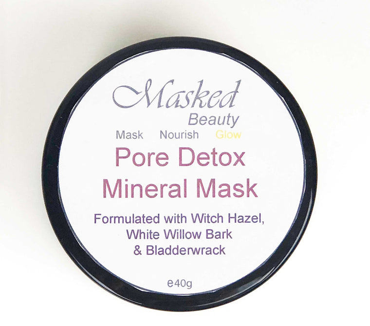 Pore Detox Mineral Clay Mask