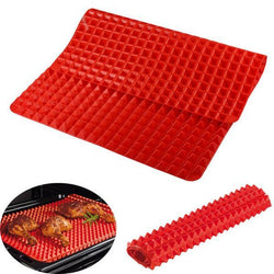 CupidWare Silicone Non-Stick Backing Mat, Red