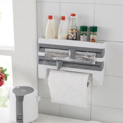 4-IN-1 Kitchen Roll Holder / Dispenser