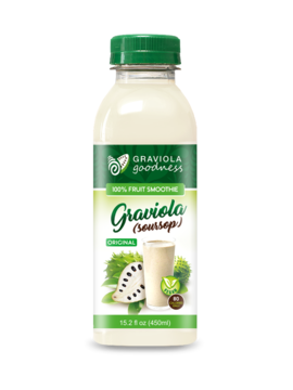 Graviola 100% Fruit Smoothie - Original Flavor - case of 12/15.2 oz - Graviola Goodness