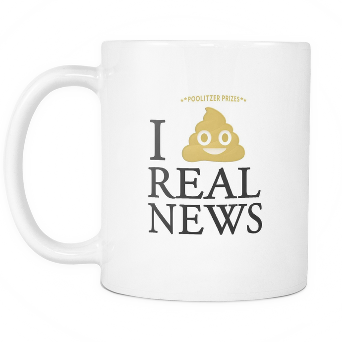 I Poo Real News! 11oz Mug