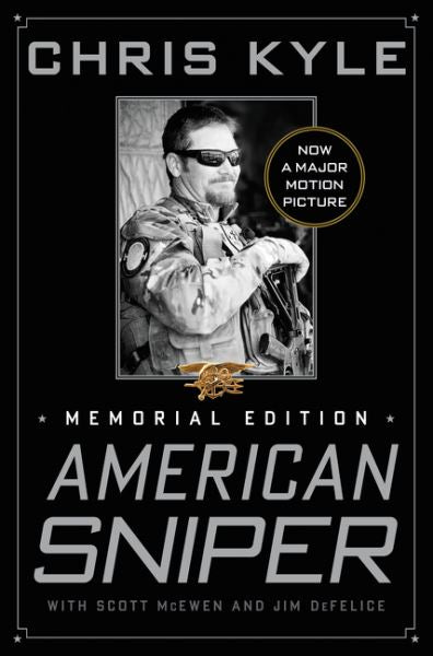American Sniper by Chris Kyle (Memorial Edition) - Hard Cover Books Harper Collins