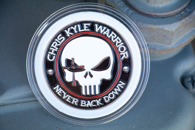 CK Warrior - Never Back Down Challenge Coin ID Product Source