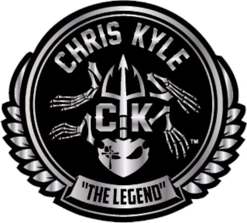 Chris Kyle - The Legend Decal - 4 Inch Decal Stitches Ink