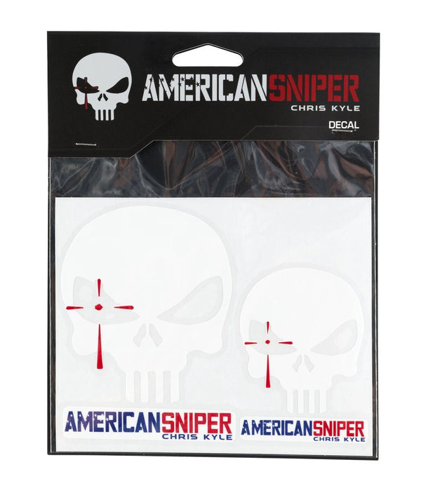 American Sniper Vinyl Decals (Set of 2) - White Decal SPG