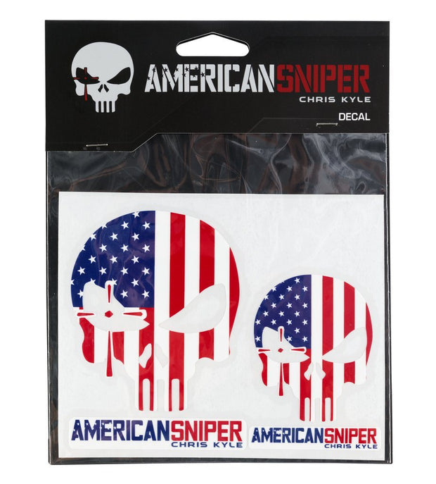 American Sniper Vinyl Decals (Set of 2) - American Flag Decal SPG