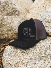 Protect & Serve Hat Hat Stitches Ink
