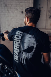 CK Warrior - Skull Fade T-Shirt T-shirt Club Red