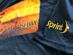 Screen printed tees for Sprint PCS