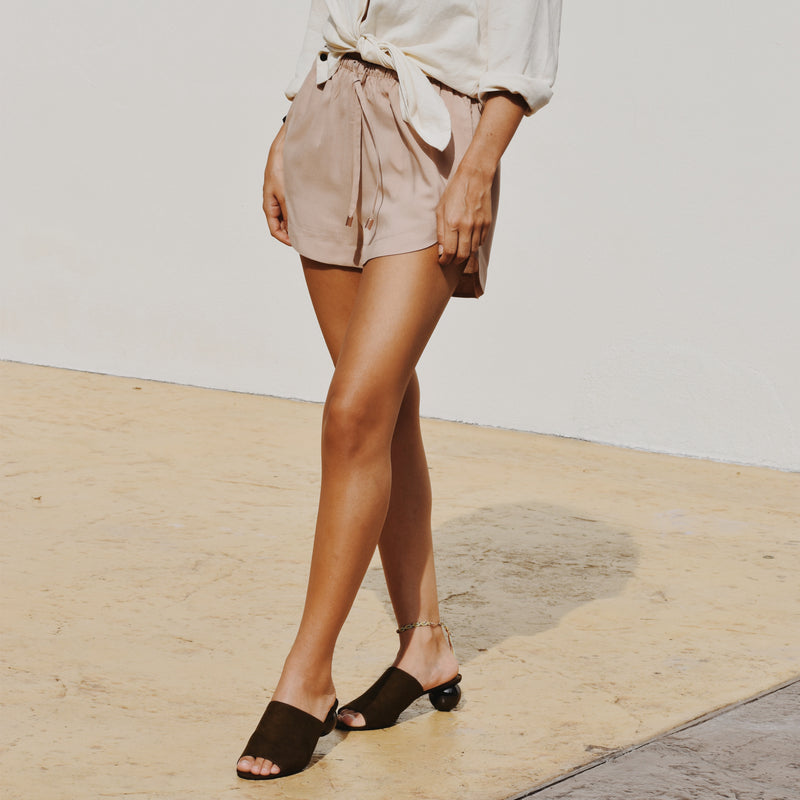 Ararose Essentials - Shorts -Muted Blush 🌳