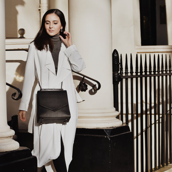 Ararose Essentials - Waterfall Trench - Notting Hill White