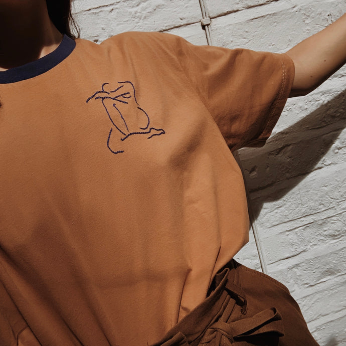 Limited Edition Nude Outline Tee