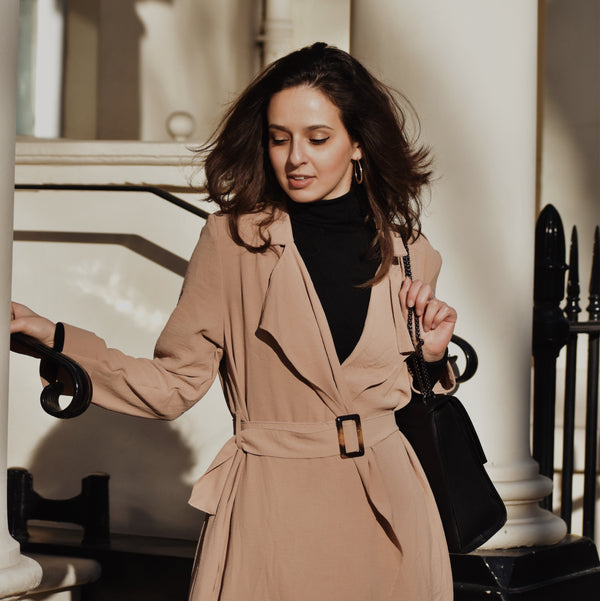 Ararose Essentials - Waterfall Trench - Muted Blush