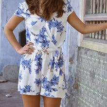 Leah Floral Playsuit