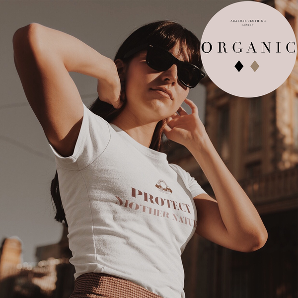 Organic Statement Tee - Protect Mother Nature