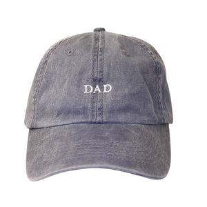 Dad Navy Wash Hat
