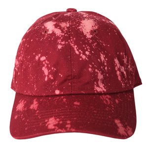 Treated Maroon Dad Hat