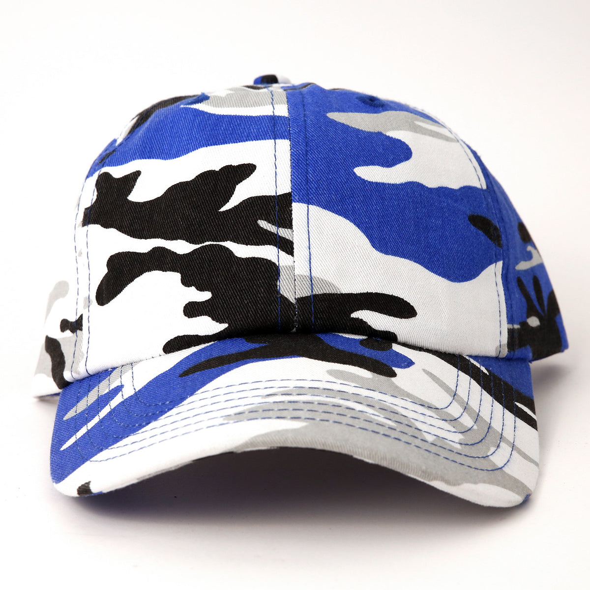 Blue Camo Dad Hat