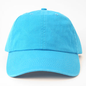 Neon Blue Dad Hat
