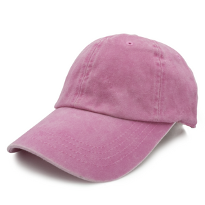 Pink Washed Dad Hat