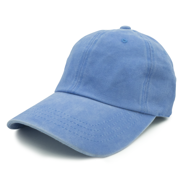 Baby Blue Washed Dad Hat