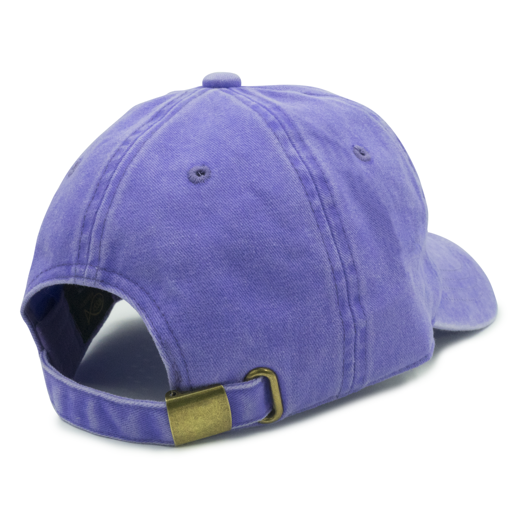 Pastel Purple Washed Dad Hat
