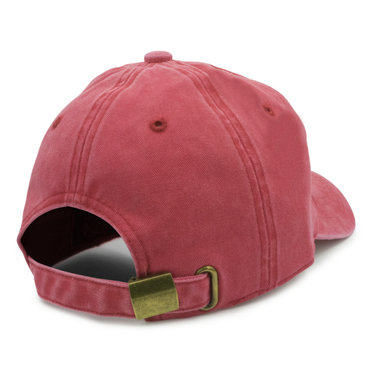 Red Washed Dad Hat