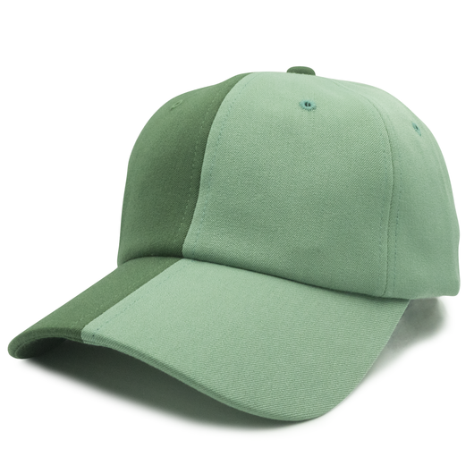 Green Split Dad Hat