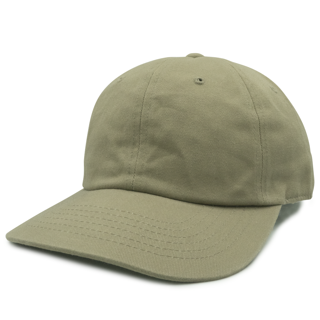 Tan Unconstructed 6 Panel