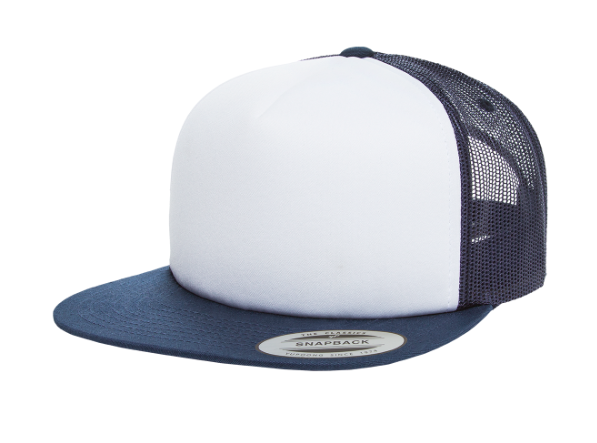 Navy/White Trucker SnapBack