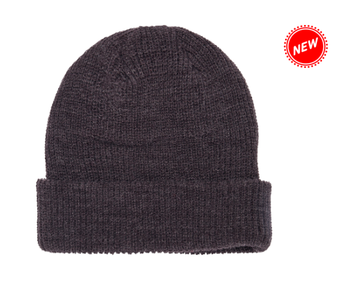 Charcoal Knit Beanie