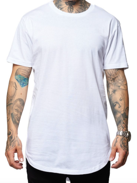 Scoop Bottom Tee (3 Colors)