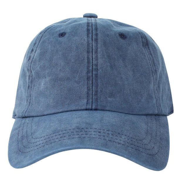 Navy Washed Dad Hat