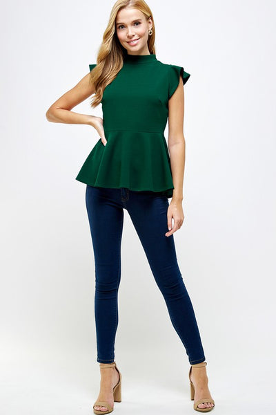 Samantha Peplum Top