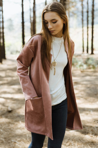 Ophelia Open Front Jacket