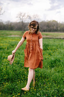 Sicilian City Slicker Linen Dress