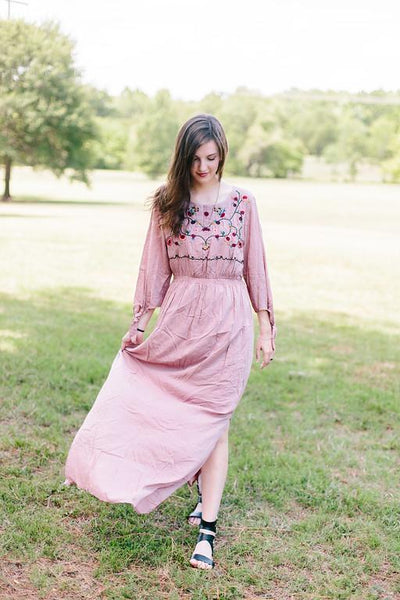 Dust In The Wind Pink Maxi
