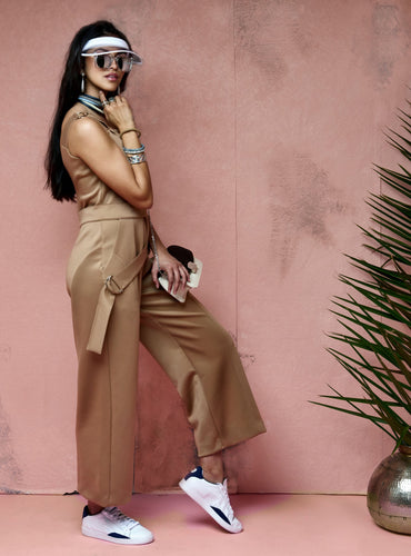 Arc Wide-Leg Jumpsuit