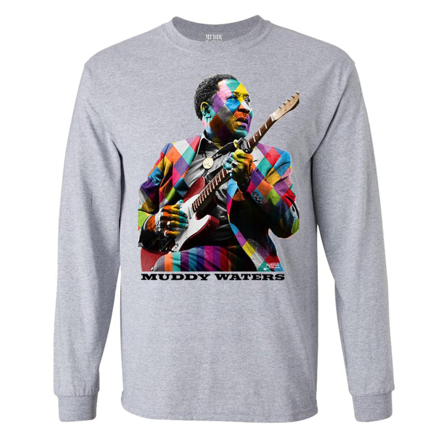 Mural Long Sleeve T-Shirt (Heather Gray)
