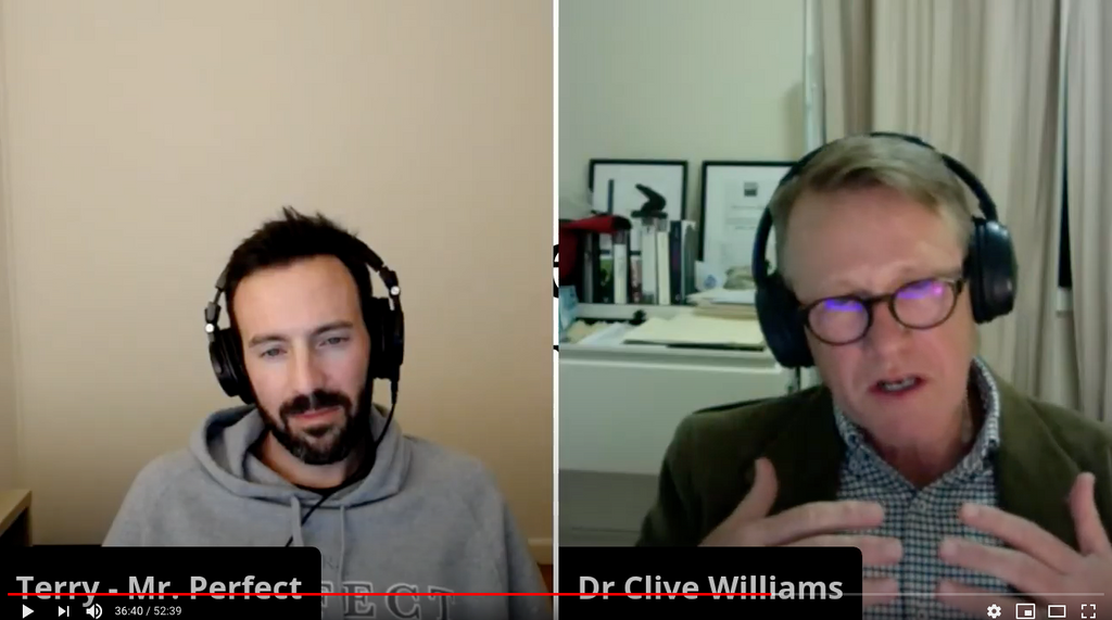 TRH: The Reconnection Hour with Dr Clive Williams (Psychologist)