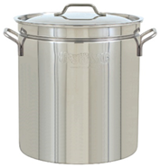 Bayou Classic 24 Qt. to 162 Qt. Stainless Stockpot - Brew My Beers