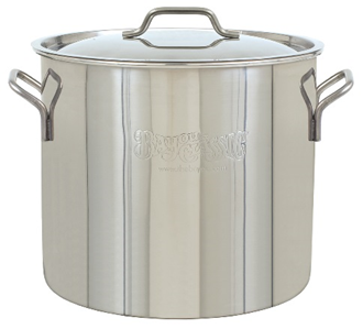Bayou Classic 20-Qt. Stainless Steel Brew Kettle - Brew My Beers
