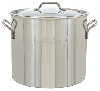 Bayou Classic 30-Qt. Stainless Steel Brew Kettle - Brew My Beers