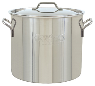Bayou Classic 40-Qt. Stainless Steel Brew Kettle - Brew My Beers