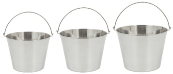 Bayou Classic 3 Pc Stainless Steel Beverage Bucket Set - Brew My Beers
