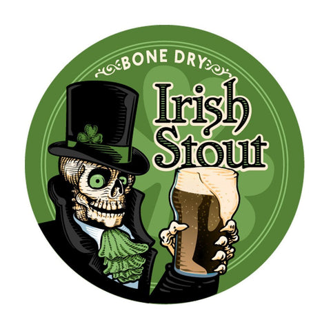 Craft A Brew Bone Dry Irish Stout - 5 Gal Recipe Kit - Brew My Beers