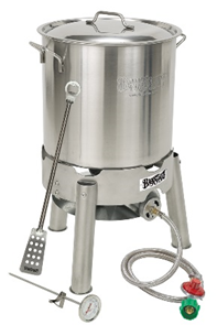 Bayou Classic Stainless Steel Homebrew Starter Kit - Brew My Beers