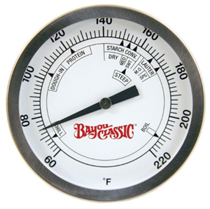 Bayou Classic Side Mount Brew Thermometer - Brew My Beers