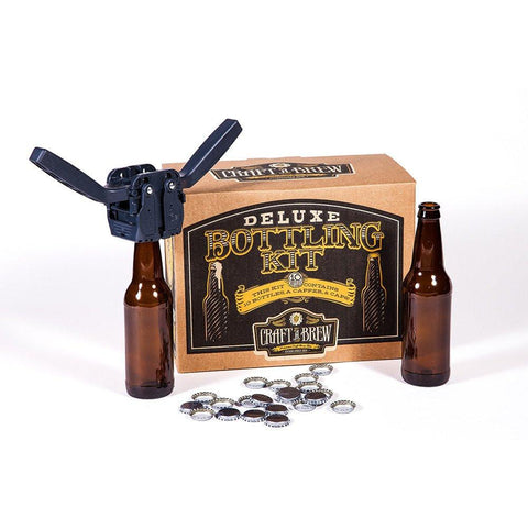 Craft A Brew Deluxe Bottling Kit - Brew My Beers
